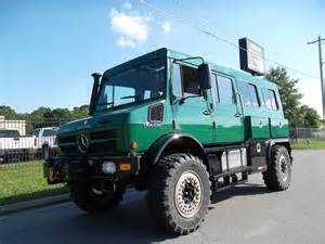 Mercedes Unimog Price Mercedes Unimog U1550 Crew Cab 4x4 For Sale