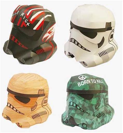 Stormtrooper Helmet Papercraft - diy papercraft stormtrooper helmets
