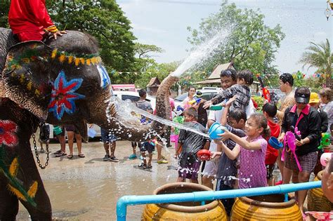 when is new year 2015 in thailand songkran water festival thailand 2018