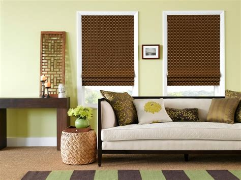 Living Room Shades Window Coverings - living room window treatments hgtv