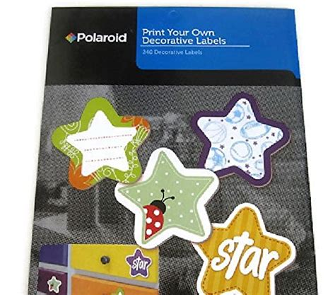 Polaroid Mailing Labels Template Choice Image Template Design Ideas Polaroid Decorative Labels Template