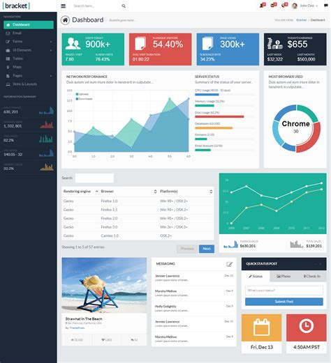 best admin panel template 40 best html5 dashboard template and admin panel 2016