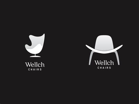 wellch chairs logo battle by marko jotic dribbble