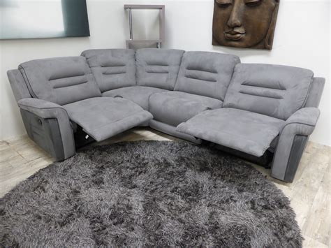 Suede Sofas Uk by Mizzoni Italia Suede Excellent Quality Power Recliner