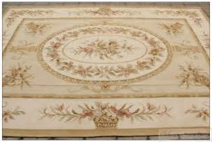 Area Rugs Ta 2x3m Wool Woven Shabby Chic Style Aubusson Area Rug Carpet Yellow Ivory In Rug From