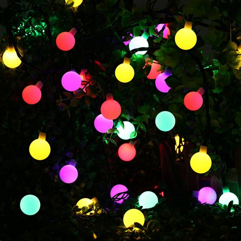aliexpress com buy globe solar powered christmas lights