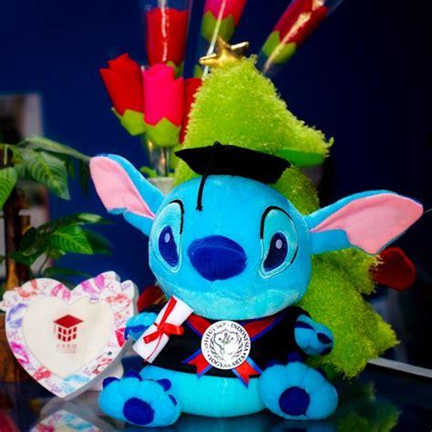 Boneka Wisuda Stitch By Keyniegift jual boneka wisuda stitch murah kado wisudaku