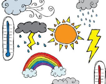 Weather Clip Art For Kids Printable | Clipart Panda - Free ... Free Clip Art Weather Pictures