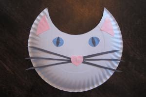 Paper Plate Cat Craft - how to make a paper plate cat lovetoknow