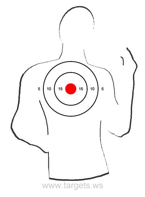 printable shooting targets software printable silhouette targets calendar june