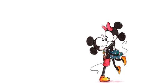 Mickey Mouse And Minnie Mouse In Iphone Semua Hp minnie mouse iphone wallpaper wallpapersafari