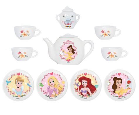 Disney Princess Tea Set disney princess porcelain tea set disney princess