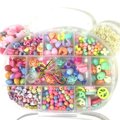 Children s bead jewellery making kit