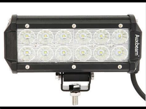 Cree Led Light Bar Review Auxbeam 7 Inch 36w Cree Led Light Bar Review