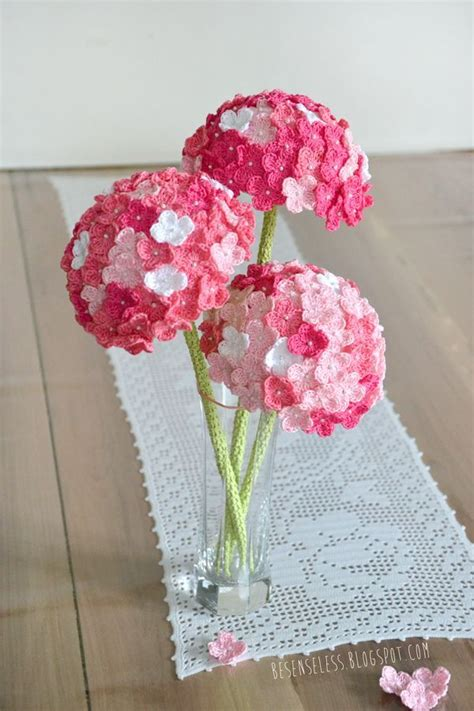 knitted flower bouquet 1000 ideas about pink hydrangea on floral
