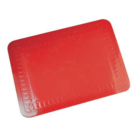 Silicone Anti Slip Mat by Tenura Silicone Rubber Anti Slip Rectangular Mat