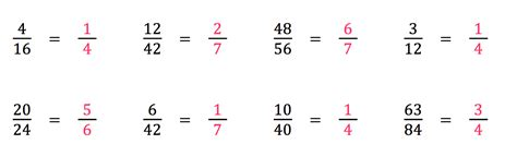 Check Math Homework Fractions by Homework Hcf Simplifying Fractions Mrs S
