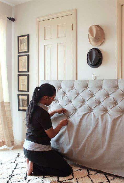 como hacer cabeceros de cama tapizados m 225 s de 25 ideas fant 225 sticas sobre respaldos de cama en