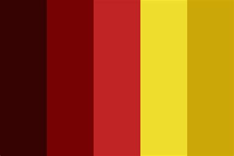 gryffindor colors gryffindor probably color palette