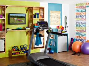 Decorating A Home Gym by Colorful And Inspiring Home Gym Design Digsdigs