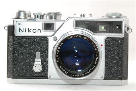 nikon sp mm rangefinder film camera  nikkor sc mm