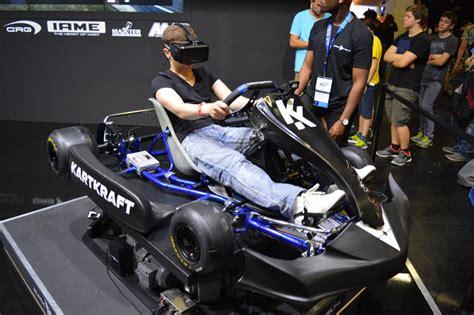 Best Seller Ps4 Vr Karts Reg 1 black delta brings vr racer kartkraft to gamescom with motion simulator road to vr