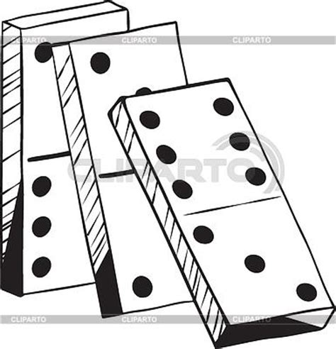 Domino And The Search For Identity Domino Stock Photos And Vektor Eps Clipart Cliparto