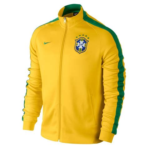 Jaket Sweater Hoodie Barcelona Kode 007 2014 15 brazil nike authentic n98 jacket yellow 589852