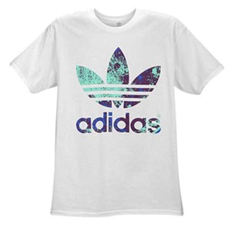 Custom T Shirt Kaos Adidas Originals adidas originals graphic t shirt s casual clothing white purple blue