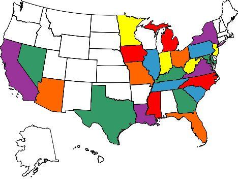 map of us states i visited states visited map the beautiful outdoors travel