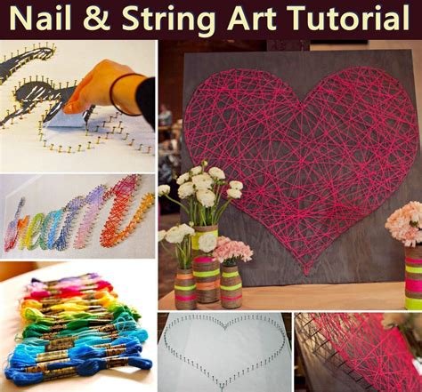 Nail And String State Tutorial - nail and string tutorial pictures photos and images