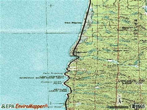 map of yachats oregon yachats oregon or 97498 profile population maps real