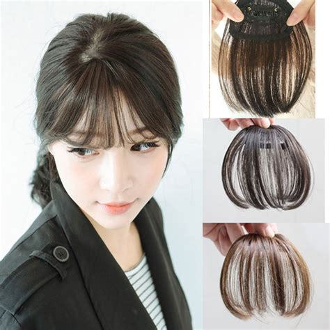 clip on human hair bangs for thinning hair clip on human hair bangs for thinning hair popular thin