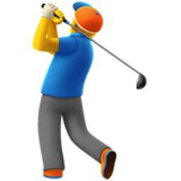 swing emoji golfing emoji u 1f3cc u fe0f