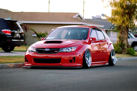 stanced subaru hd stanced subaru sti hatchback dream cars pinterest