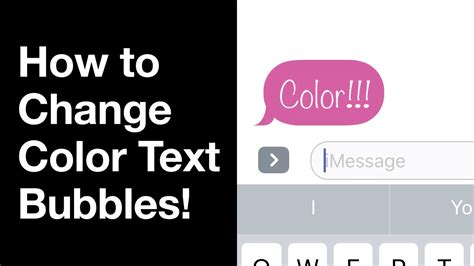 how to change message color on iphone ios 10 how to change color text bubbles for imessage