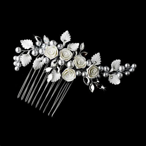 flower bridal comb elegant bridal