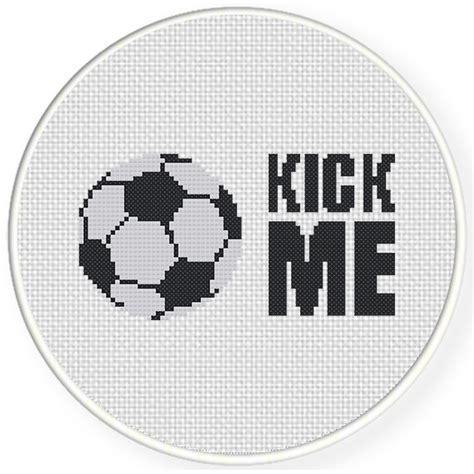 house kick pattern charts club members only kick me cross stitch pattern
