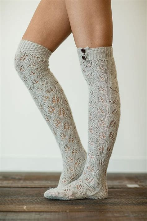 boot socks pattern knit knitted boot socks my style pinterest