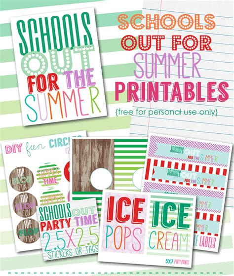 free printable gift tags summer free summer printables free printables summer printables