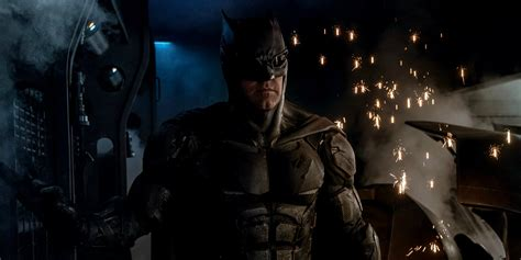 justice league film photo justice league ben affleck discusses tactical batman costume