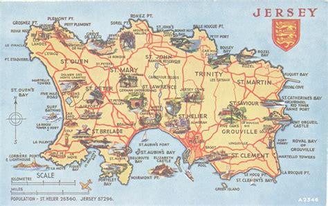 0004490363 carte touristique jersey en channel islands 171 a canadian family