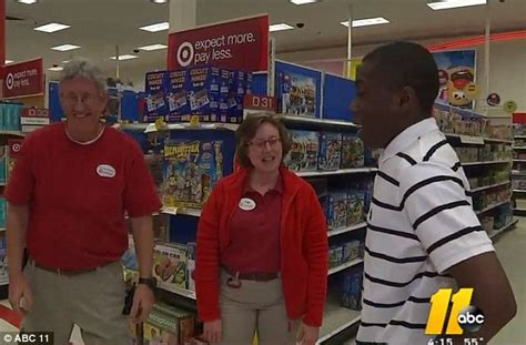 what to wear to job interview female teen thanks target employee who helped him tie a tie for a