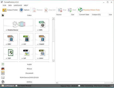 format factory moi nhat full crack tải phần mềm format factory 4 0 0 full crack phi 234 n bản mới