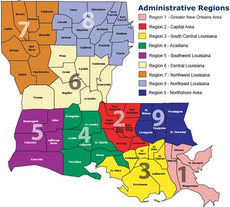louisiana agriculture map preventing chronic disease engaging communities to