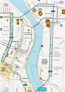portland oregon streetcar map don t forget the zoning 171 the transport politic