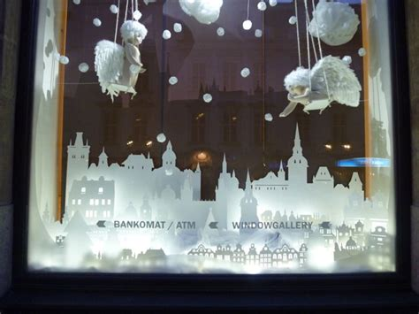 white angel window display curb appeal pinterest