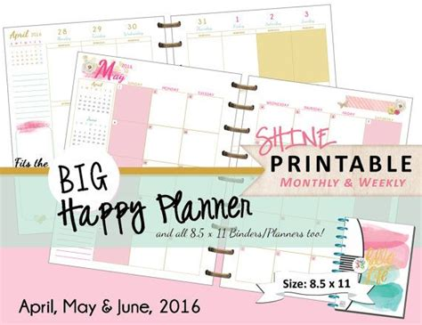 printable planner refills 17 best images about happy planner on pinterest happy