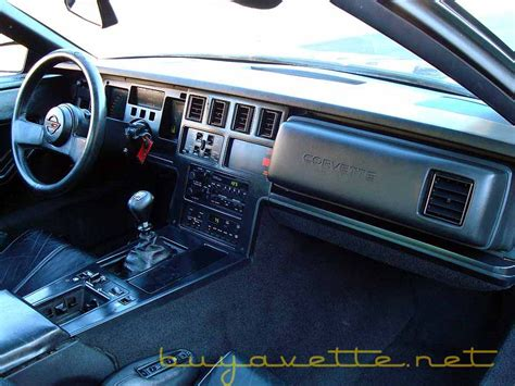89 Corvette Interior by 1989 Corvette Z51 For Sale
