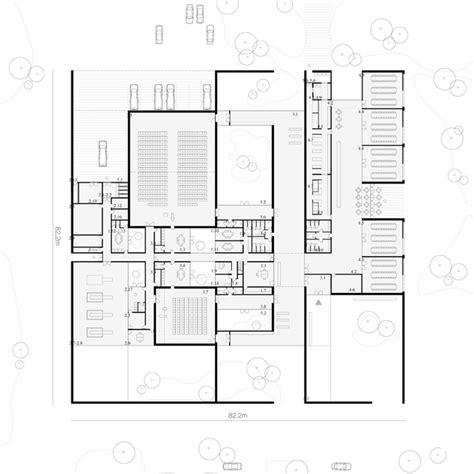 crematorium floor plan aalst crematorium to be built by claus en kaan gallery